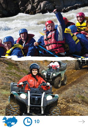 Riverrafting & ATV 4x4